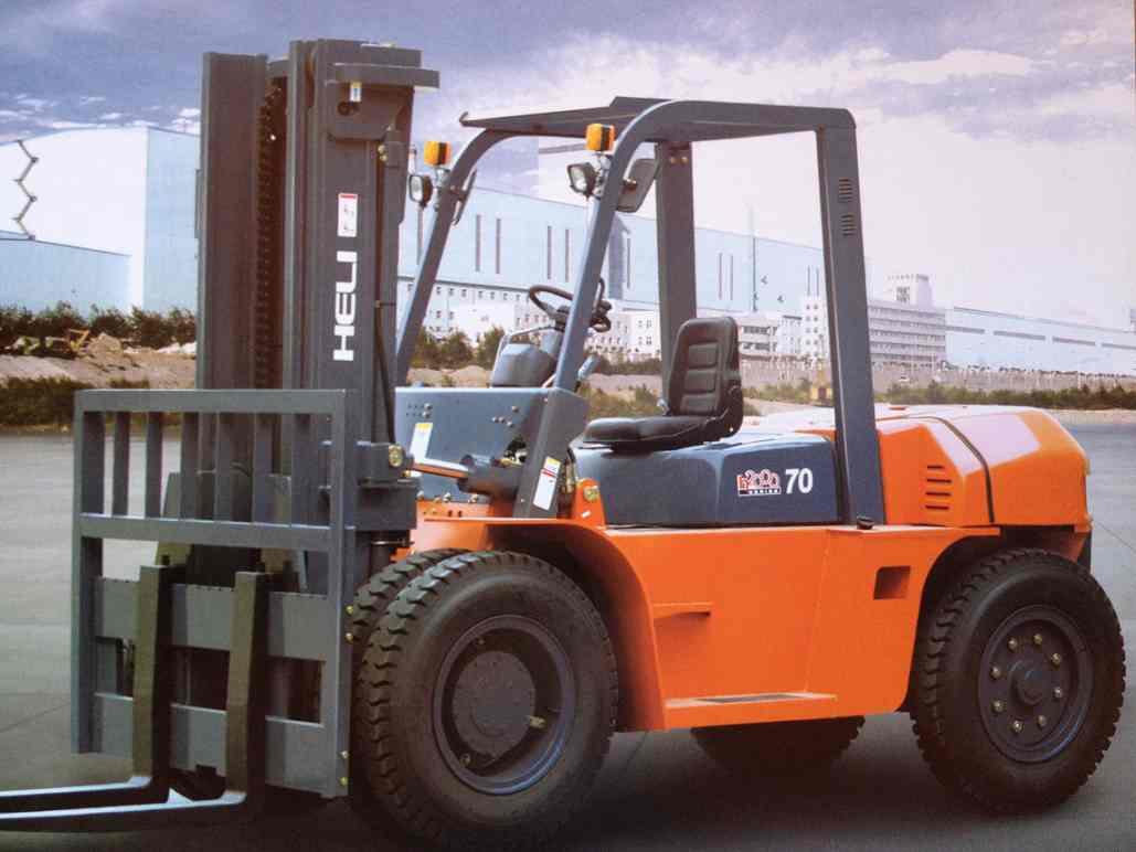 Xe nâng Diesel Heli CPCD70- 7 tấn