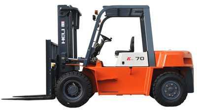 Xe nâng CPCD70- 7 tấn