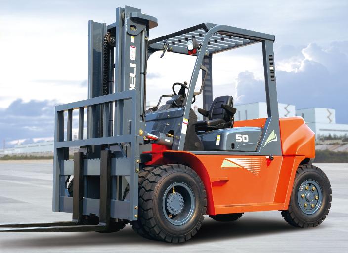 Xe nâng Diesel Heli CPCD50- 5 tấn